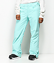 Roxy Backyard Aruba Blue 10K Snowboard Pants