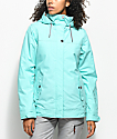 Roxy Billie Aruba Blue 10K Snowboard Jacket