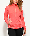 Roxy Cascade Tech Fleece Neon Grapefruit Anorak