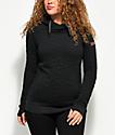 Roxy Dipsy Black Tech Hoodie