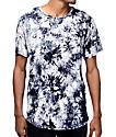 Rustic Dime Black Crystal Tie Dye T-Shirt