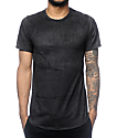 Rustic Dime Black Suede Tall T-Shirt