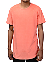 Rustic Dime Coral Suede Tall T-Shirt