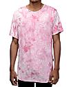 Rustic Dime Pink Crystal Tie Dye T-Shirt