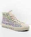 STRAYE Venice Rainbow Cheetah Print Skate Shoes