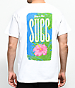 SUCC Nice Succ Flower White T-Shirt