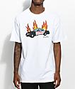 Salem7 Break The Law camiseta blanca