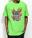Salem7 Doll House Lime T-Shirt
