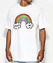 Salem7 Shut Up Rainbow White T-Shirt