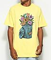 Salem7 Trash Can Yellow T-Shirt