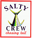 Salty Crew Chasing Tail Sticker