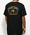 Salty Crew Leeward Black T-Shirt