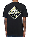Salty Crew Tippet Black & Camo T-Shirt