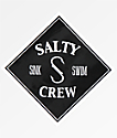Salty Crew Tippet Black Sticker