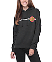 Santa Cruz Classic Dot Heather Charcoal Hoodie