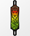 "Santa Cruz Lion God 40""  Drop Through Longboard Deck"