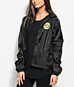 Santa Cruz Other Dot Black Windbreaker Jacket