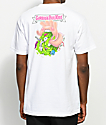 Santa Cruz X Garbage Pail Kids Heaving Hand White T-Shirt