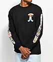 Santa Cruz x Garbage Pail Kids Nostalgia Overload Black Long Sleeve T-Shirt