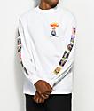 Santa Cruz x Garbage Pail Kids Nostalgia Overload White Long Sleeve T-Shirt