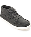 Sanuk Vee K Shawn Washed Black Shoes