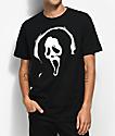 Scream Ghost Face Black T-Shirt
