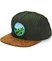 Skate Mental Get Lost Snapback Hat