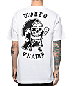 Sketchy Tank Champ White T-Shirt