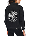Sketchy Tank Dane Black Denim Jacket