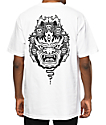 Sketchy Tank Mask White T-Shirt