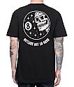 Sketchy Tank Outlook Black T-Shirt