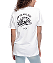 Sketchy Tank Wish You Were Here White T-Shirt