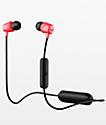 Skullcandy Jib Wireless Black & Red Earbuds
