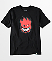 Spitfire Boys Bighead Fill Black T-Shirt