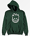 Spitfire Boys Bighead Green Pullover Hoodie