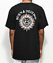 Spitfire Burn & Destroy Black T-Shirt