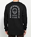 Spitfire Steady Rocking Black Long Sleeve T-Shirt