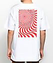 Spitfire Swirl Box White T-Shirt
