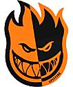 Spitfire Two-Tone Orange & Black Medium Sticker