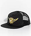 Spitfire x Anti Hero Black Trucker Hat