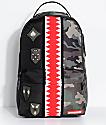Sprayground Split Camo Patch Backpack