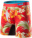 Stance Diamondhead Basilone Red Floral Boxer Briefs