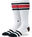 Stance Oxnard White Tall Crew Socks