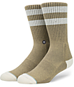 Stance Salty Brown Crew Socks