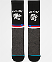 Stance Tiger Eye Black Crew Socks