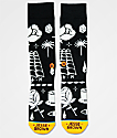 Stance x DROPOUT CLUB INTL. Knife Show Jesse Brown Black Crew Socks