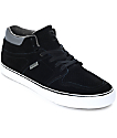 State Mercer Black & Pewter Suede Skate Shoes
