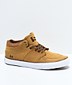 State Mercer Taffy Brown Suede Skate Shoes