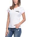 Stay Cute Sucker Pink & White Ringer T-Shirt