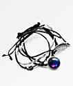 Stone + Locket Braid, Galaxy & Arrow Bracelet Pack